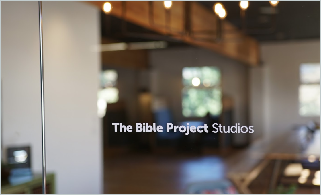 The Bible Project Offices
